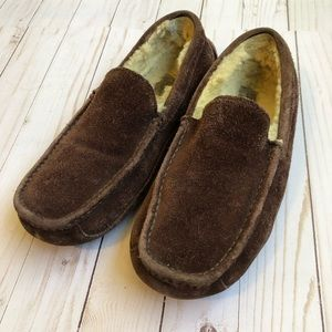 Ugg Ascot Moccasin Slippers Men Size 9 Leather